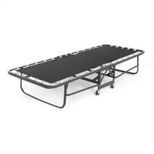 "Deluxe Rollaway Folding Poly Deck Bed 1221P with Angle Steel Frame and 39"" Foam Mattress, 38"" x 75"""
