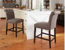 Tripton - Medium Brown Set Of 2 Dining Room Barstools Product Image