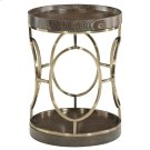 Clarendon Round End Table in Arabica (377) Product Image