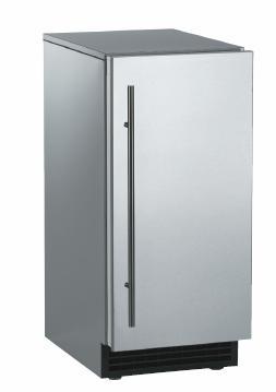 Brilliance™ Under-Counter Gourmet Ice Machine - Stainless Steel / Stainless Steel - Gravity