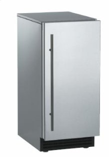 Brilliance™ Under-Counter Gourmet Ice Machine - Stainless Steel Cabinet / Unfinished Front - Gravity Drain