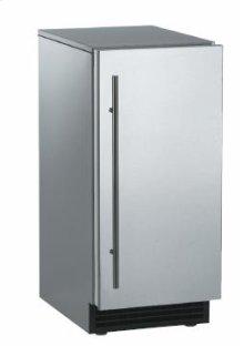 Brilliance™ Under-Counter Gourmet Ice Machine - Black / Unfinished - Gravity