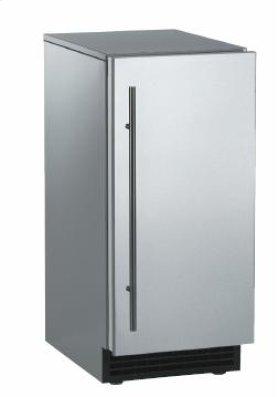 Brilliance™ Under-Counter Gourmet Ice Machine - Stainless Steel / Stainless Steel - Pump