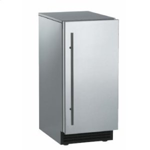 ScotsmanBrilliance™ Under-Counter Gourmet Ice Machine - Stainless Steel / Unfinished - Pump