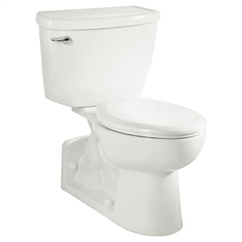 Yorkville 1.1 gpf FloWise Right Height Toilet - White