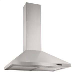 Broan24-In. Convertible Wall Mount Chimney Range Hood with LED Light in Stainless Steel
