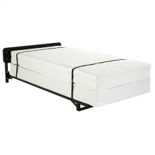 """Hospitality 998 Stow-Away Bed System with 39"""" Fiber Mattress and 3"""" Swivel Casters, Twin"""