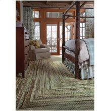 Bear Creek Olive Branch Braided Rugs