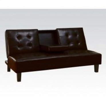 Espresso Adj. Sofa W/ca Foam