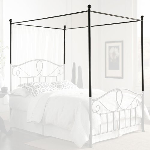 Canopy Kit for Sylvania Complete Bed, French Roast Finish, Queen