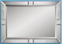 Clear Bevelled Mirror 30x42