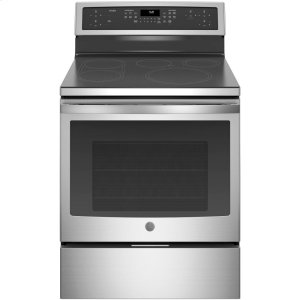 "GE ProfileGE PROFILEGE Profile™ 30"" Smart Free-Standing Convection Range with Induction"