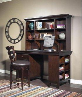 "Artisan Dark Office Desk Top 60"""