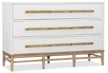 Bedroom Urban Elevation Three-Drawer Bachelors Chest