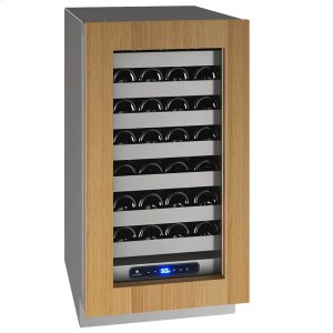 "U-Line18"" Wine Refrigerator With Integrated Frame Finish and Field Reversible Door Swing (115 V/60 Hz Volts /60 Hz Hz)"