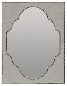 Bedroom Boheme Nourmand Linen Wrapped Mirror