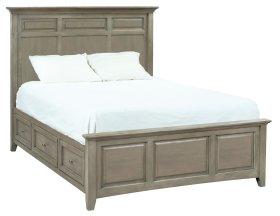 FST McKenzie Queen Mantel Storage Bed