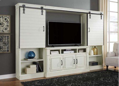 Blinton - White 4 Piece Entertainment Set
