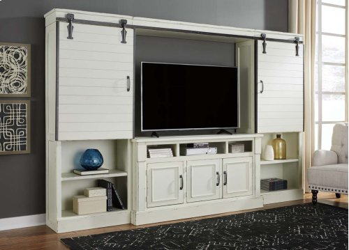 Blinton - White 4 Piece Entertainment Set