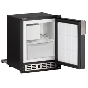 "U-Line14"" Crescent Ice Maker With Black Solid Finish (115 V/60 Hz Volts /60 Hz Hz)"