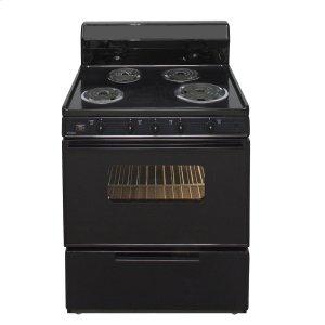 Premier30 in. Freestanding Electric Range in Black