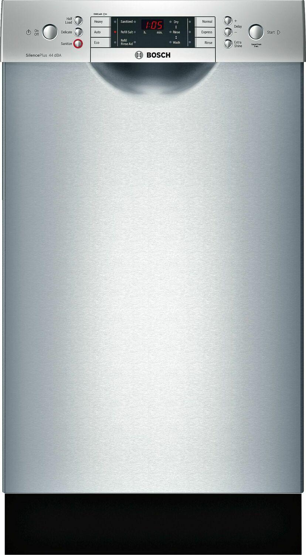 "ADA 18"" 800 Series Recessed Hndl, 6/5 Cycles, 3rd Rck, 44 dBA, RckMatic,10 Pl Stgs - SS Photo #1"