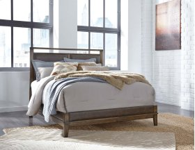 Zilmar - Walnut Brown 2 Piece Bed Set (Queen)