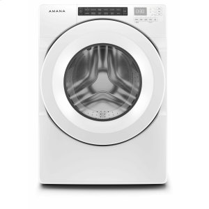 AMANA4.3 cu. ft. Front-Load Washer with Large Capacity - White