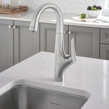Avery Pull-Down Bar Faucet  American Standard - Stainless Steel