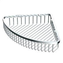 "Corner Shower Basket 12""W in Chrome"