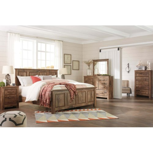 Blaneville - Brown 3 Piece Bed Set (King)
