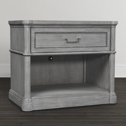 Anchor Grey Martinique Open Nightstand