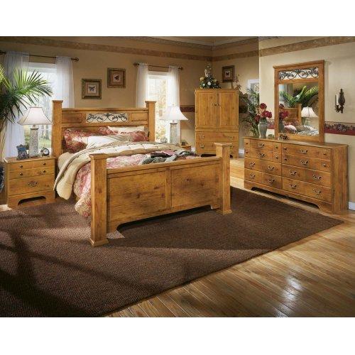 Bittersweet - Light Brown 2 Piece Bedroom Set