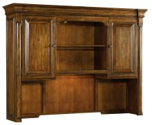 Home Office Tynecastle Computer Credenza Hutch