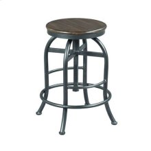 Hidden Treasures Adjustable Height Pub Stool