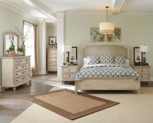 Demarlos - Parchment White 3 Piece Bed Set (King)