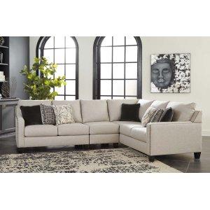 Ashley Furniture Hallenberg - Fog 3 Piece Sectional