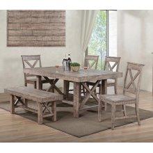 Aspen Rustic Dining Table