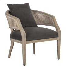 Vivian Accent Chair Charcoal