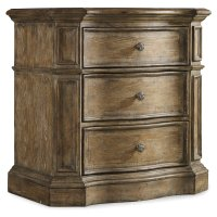 Bedroom Solana Three-Drawer Nightstand Product Image