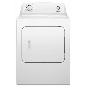 Amana6.5 cu. ft. Gas Dryer with Wrinkle Prevent Option - White