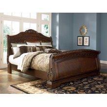 North Shore - Dark Brown 3 Piece Bed Set (Cal King)