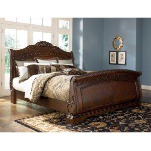 Ashley Furniture North Shore - Dark Brown 3 Piece Bed Set (Cal King)