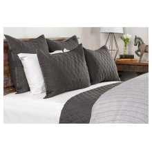 Lana Charcoal 4Pc King Set