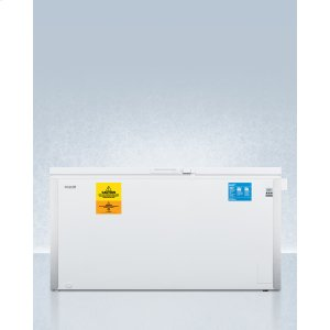 SummitLaboratory Chest Freezer Capable of -30 C (-22 F) Operation With Dual Blue Ice Banks