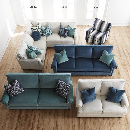 Custom Upholstery Medium Queen Sleeper