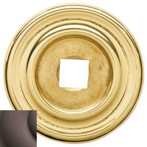 Venetian Bronze Knob Back Plate