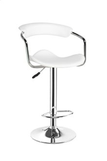 Venus White Bar Stool