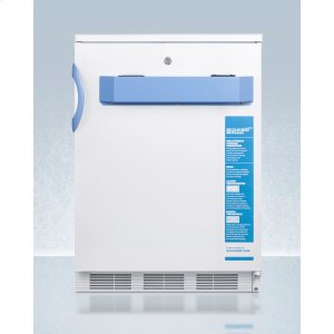 Built-in Undercounter Medical/scientific -25 c Capable All-freezer With Front Control Panel Equipped With A Digital Thermostat and Nist Calibrated Thermometer/alarm -