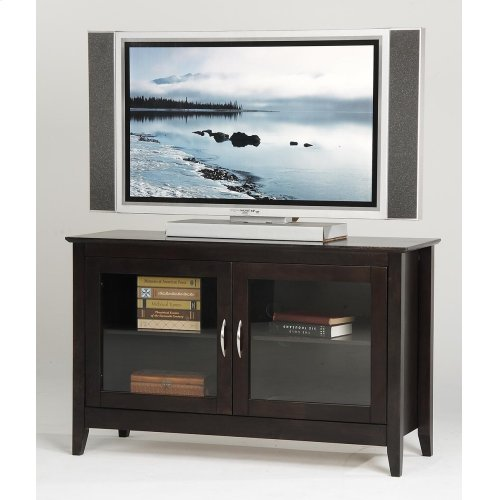 Ca48tv In By Amesbury Chair In Maine Me 48 Tv Stand With Glass Doors